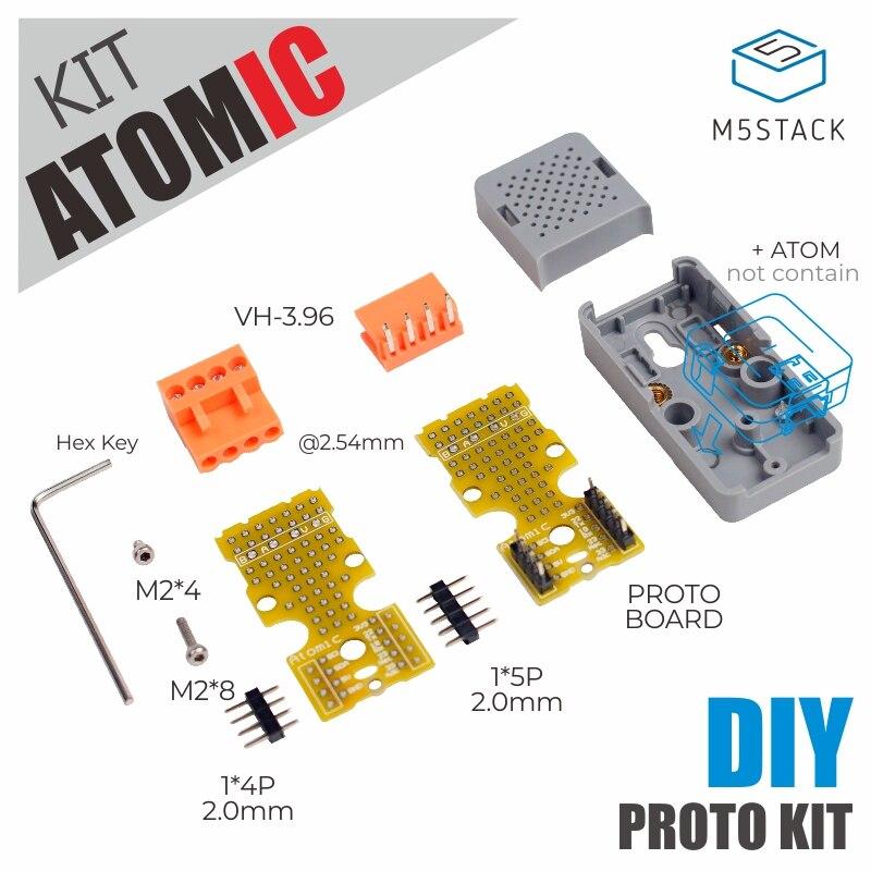 M5Stack ATOMIC DIY Proto Kit Atom Expansion Board DIY Node Controller Peripheral Connection