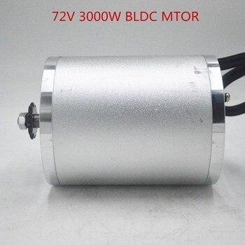 Motor de CC sin escobillas de 72V y 3000W para bicicleta eléctrica, Scooter, ebike, motor de coche, pieza de motocicleta