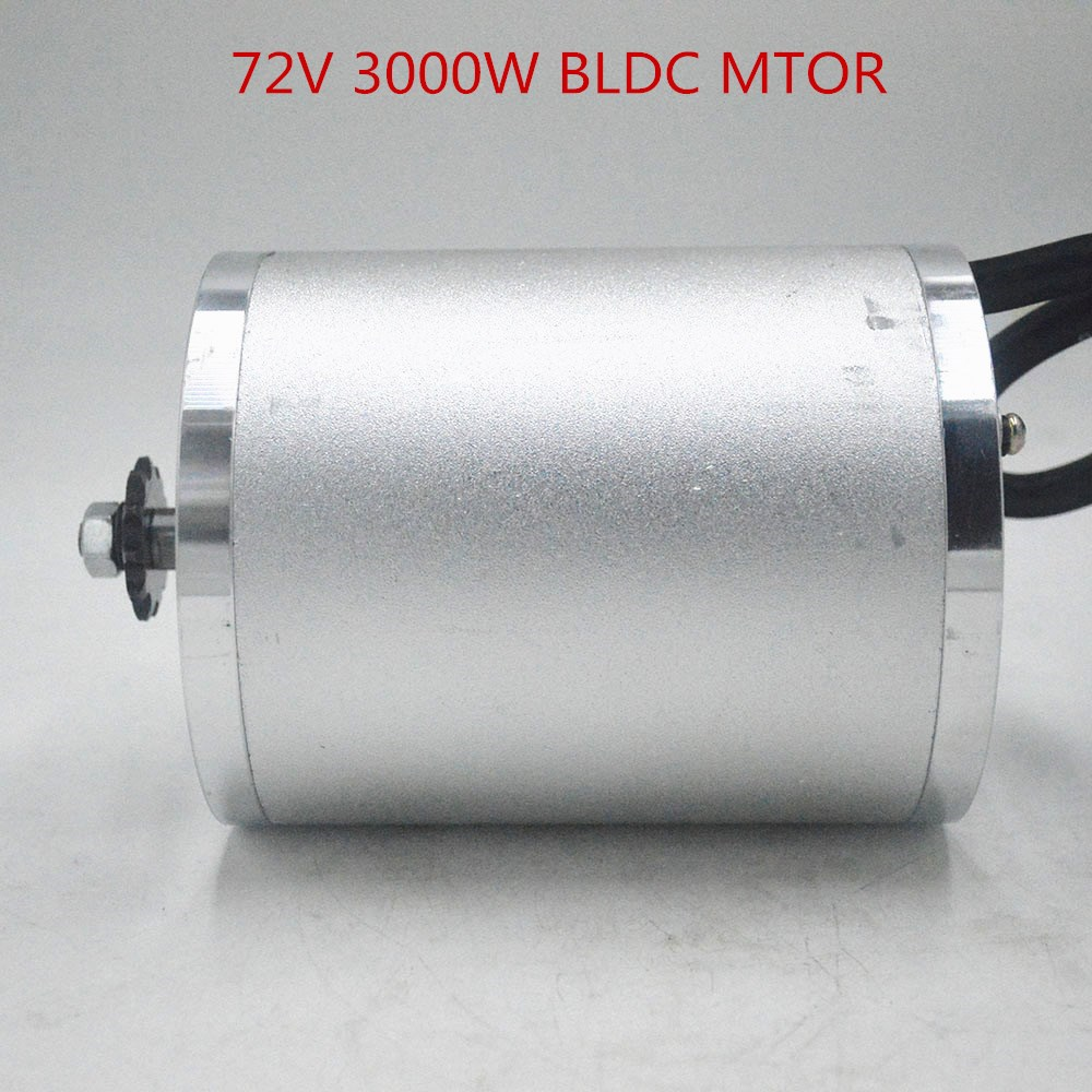 72V <font><b>3000W</b></font> electric <font><b>motor</b></font> <font><b>brushless</b></font> <font><b>motor</b></font> <font><b>3000w</b></font> for Electric bicycle Scooter ebike E-Car Engine Motorcycle Part image