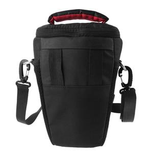 Image 3 - DSLR Camera Bag Case For Canon EOS 4000D M50 M6 200D 1300D 1200D 1500D 77D 800D 80D Nikon D3400 D5300 760D 750D 700D 600D 550D