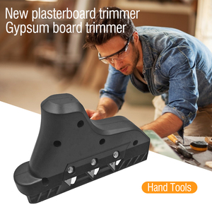 Plasterboard Edger Gypsum Board Hand Plane Drywall Edge Chamfer Woodworking Hand Tool Trimming Chamfer Wood Planer Router Bit