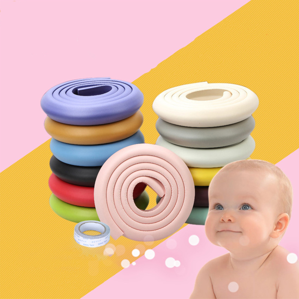 2m Baby Safety Bumper Strip, Corner Protector For Children's Table, Desk Edge Cushion Strips For Children Safety
