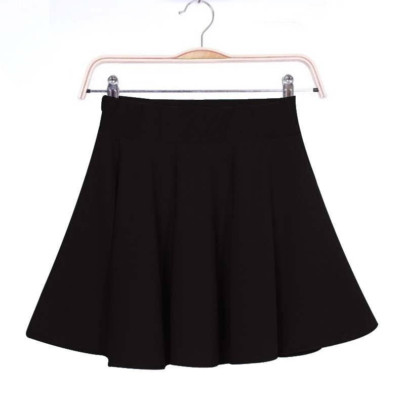 New Style New Women Skirt Sexy Mini Short Skirt Fall Skirts Womens Stretch High Waist Pleated Tutu Skirt Low Price Big Sale
