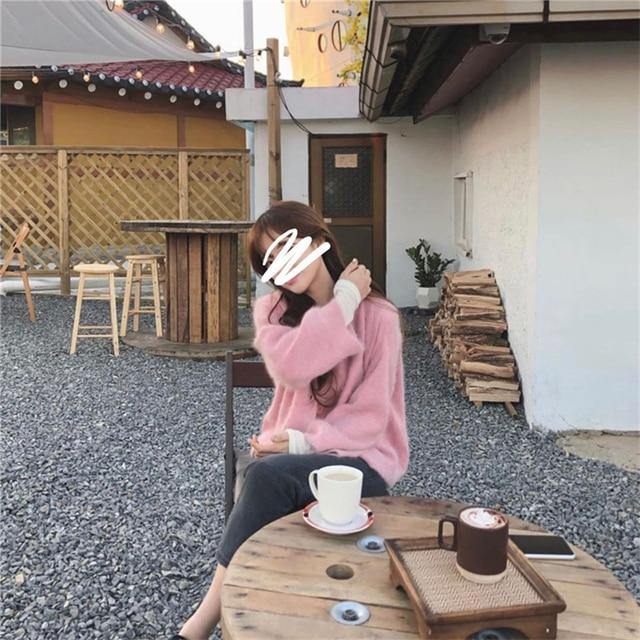 Купить женские норковые кашемировые кардиганы осень зима корейские картинки цена