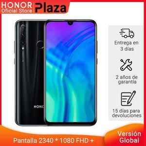 Глобальная версия смартфона Honor 20 Lite, 4 Гб 128 ГБ, Kirin 710, Восьмиядерный, фронтальная 32MP идентификация лица, 24MP камера, Googling ju