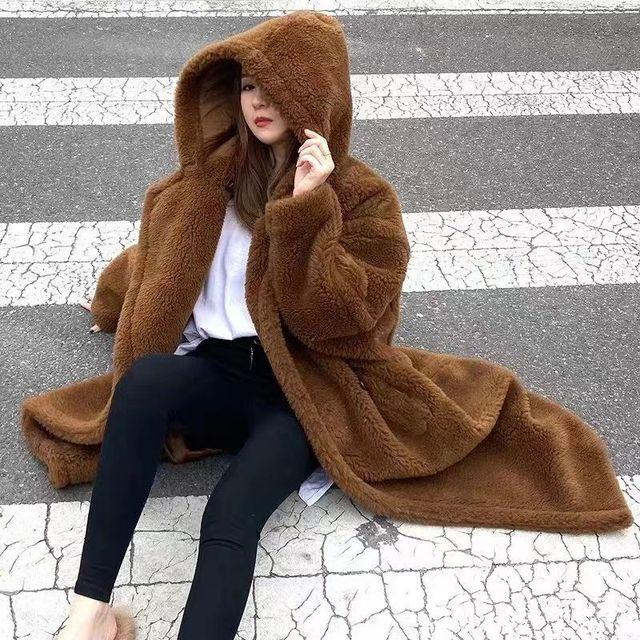 Купить шерстяное шелковое пальто со звездами из альпаки ins m design