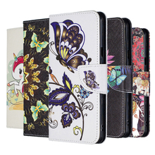 Leather Flip Phone Case For Huawei P20 Lite 2019 Case For Huawei  P Smart Plus 2019 P30 P20 P10 P9 Lite Pro Wallet Cover Coque case for huawei ascend p10 p20 p30 lite pro p10plus p20lite p30lite cover flip wallet luxury pu leather phone case bag coque