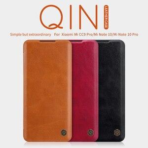 Image 5 - Для xiaomi Redmi Note 9 Pro флип чехол Примечание 10 Lite корпус NILLKIN Qin с просыпающимся Смарт кошелек кожаный чехол для телефона Redmi Note 8 10X 5G