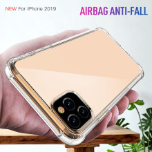 Para o iphone 11/11 Pro/11 Pro Max Anti-queda Ultra Fino TPU Caso Capa Protetora(China)