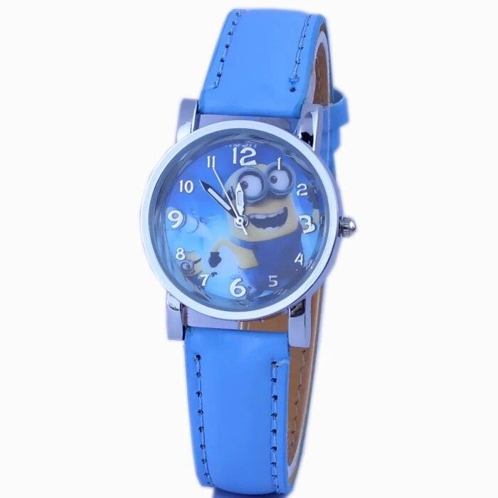 Stolen Daddy Minion Cartoon Belt Children's Watch Wholesale Hot Sale Hot Style Children Favorite Wrist Watch