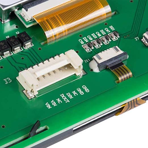 10,1 TFT lcd сенсорный модуль с поддержкой платы контроллера Arduino/PIC/любой микроконтроллер - 3