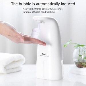250ml Automatic Foam Soap Dispenser Automatic Liquid Soap Dispenser Touchless Soap Dispenser Automatic Foam Dispenser