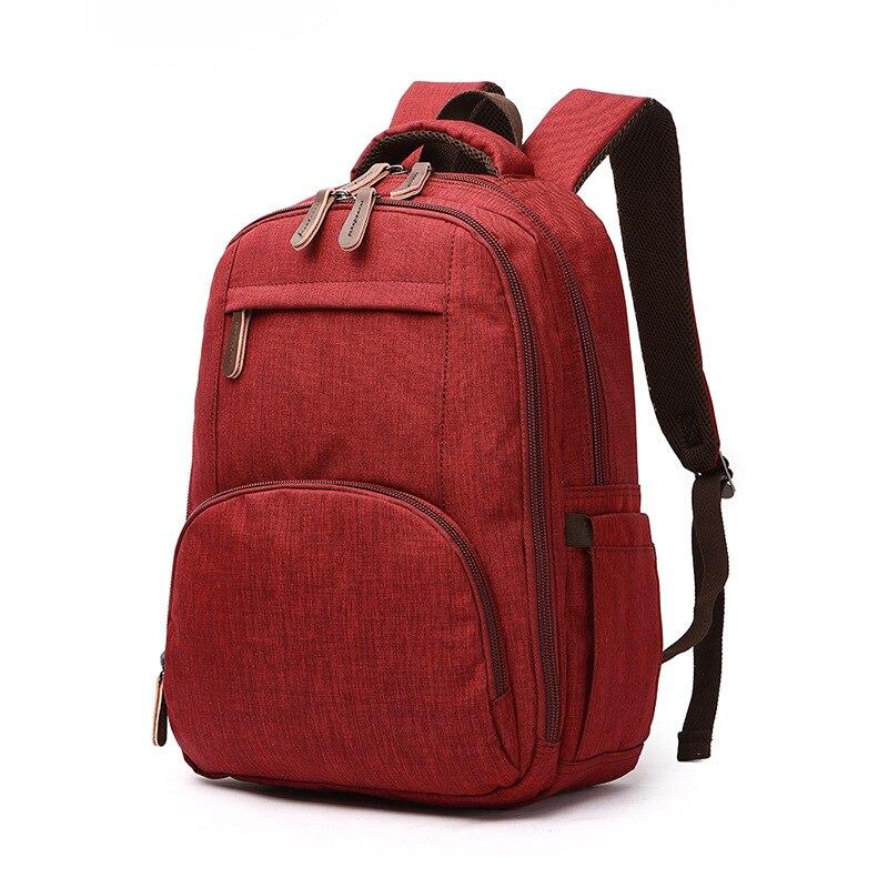 Sacs à dos pour femmes Ougger sacs de voyage pour hommes grand nouveauté en Polyester rouge Style japon sacs de sport de grande capacité pour l'extérieur