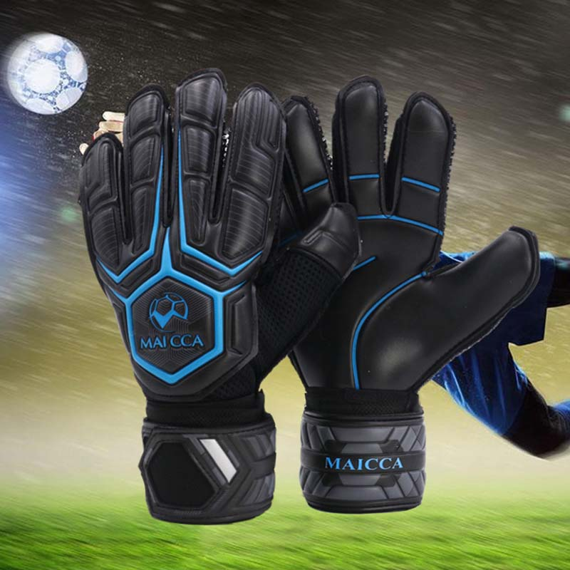 Professional Goalkeeper's Gloves Thickened Latex Finger Protection Football Training Glove Size 8 9 10 Soccer Ball Accessories