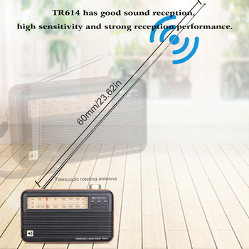 Радиоприемник RETEKESS TR614 FM/MW/SW 2