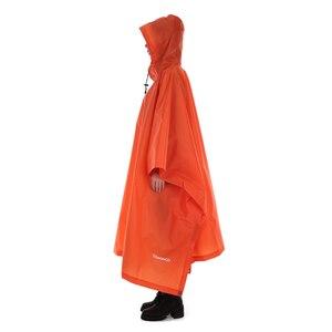 Image 1 - TOMSHOO çok fonksiyonlu hafif yağmurluk Hood ile açık kamp çadırı Mat yürüyüş bisiklet yağmur kılıfı panço yağmurluk
