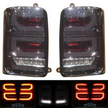 цена на for lada led tail lights 2 Pcs Car Styling Accessories LED Rear Running Lights for Lada Niva 4x4 1995 Turn Signal Light Lamp