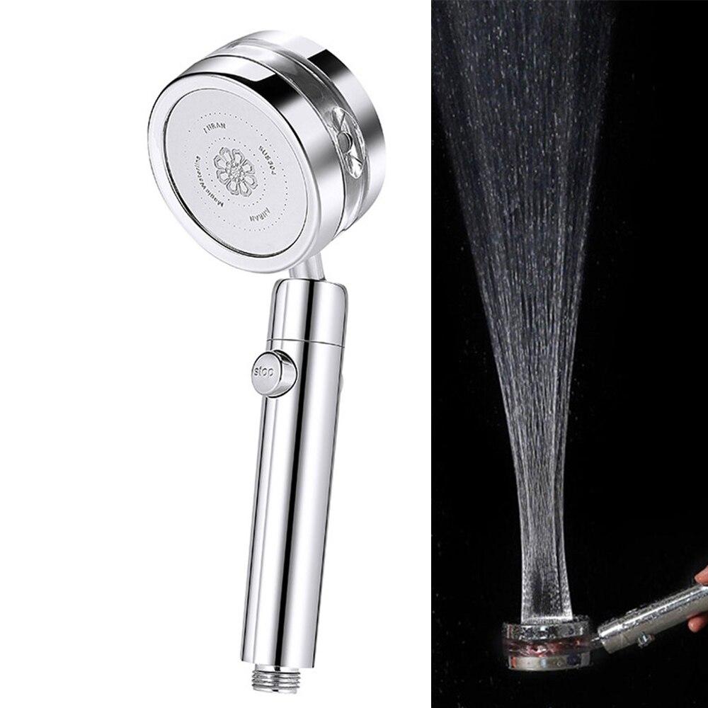 360 ° rotierenden Druck Jetting Dusche Kopf Hochdruck RecabLeght Bad Bad Dusche Filter Für Wasser Showerhead Düse