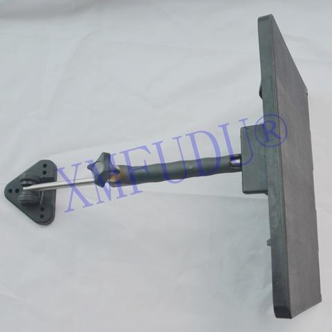 2 pces manual guarnicao guia kit 310mm 235mm liga de grande resistencia plastico resistente a