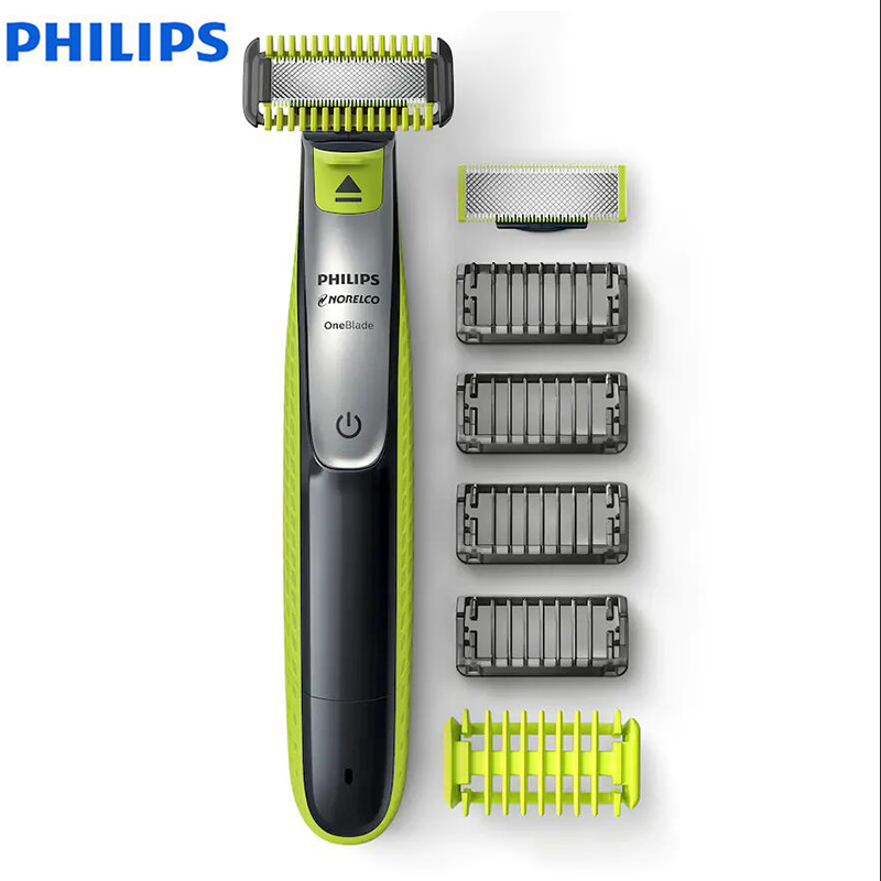 Philips OneBlade QP2630 Electric Shaver Rechargeable With Lithium-ion Battery Support Wet& Dry For Men's Shaver
