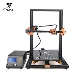 2020TEVO Tornado Impresora ثلاثية الأبعاد مجمعة بالكامل Impressora ثلاثية الأبعاد إطار من الألومنيوم الكامل مع تيتان الطارد 300*300*400 مللي متر منطقة الطباعة