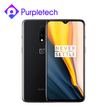 "Rom global oneplus 7 8 gb 256 gb snapdragon 855 smartphone octa core 6.41 ""amoled 48mp   16mp cam traseira nfc"