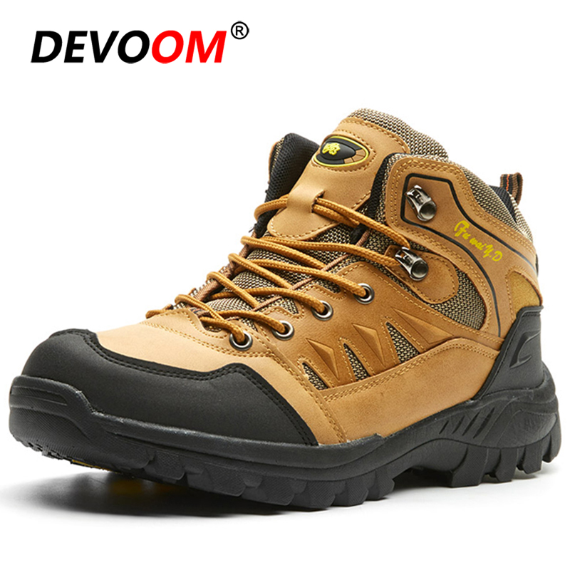 Winter Waterproof Sneakers Hiking Shoes Men Women Sport Outdoor Boots Climbing Mountain Trekking Shoes Couple Hunting Boots E 47|Hiking Shoes| |  - title=