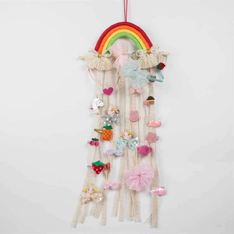Baby Hair Pin Holder Hair Clips Storage Belt Hanging Holder Accessory Organize