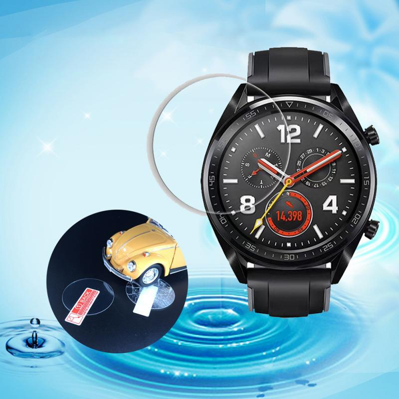 Watch Screen Protector Film Cover Case 2.5D 9H Explosion-proof Tempered Glass Protective For Huawei Watch GT 35.5mm SmartWatch
