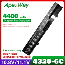 Apexway 4400 мАч аккумулятор для ноутбука hp HSTNN-Q78C-3 HSTNN-Q78C-4 HSTNN-Q81C HSTNN-UB1A PH09 PH06 COMPAQ 320 321 420 421 620 621