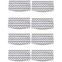 8 упаковок сменные салфетки из микрофибры с грязевой рукояткой