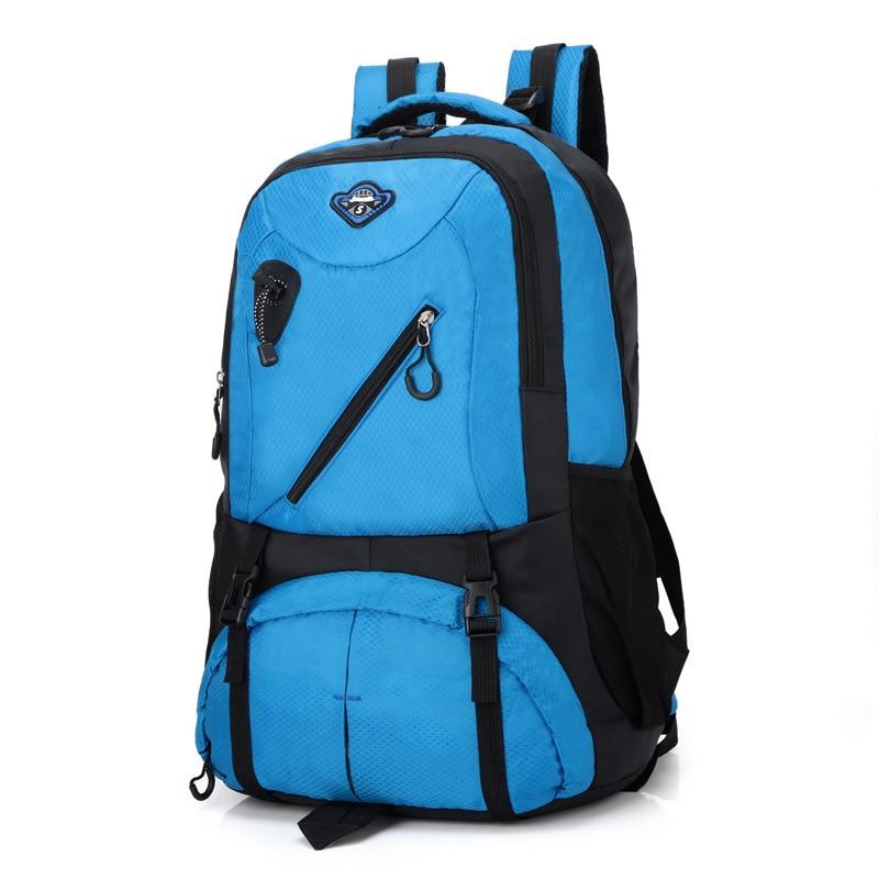 Mountaineering Bag Backpack Men's Camping Hiking Waterproof Travel Bag Riding Large-Volume Multi-functional Outdoor Backpack Wom