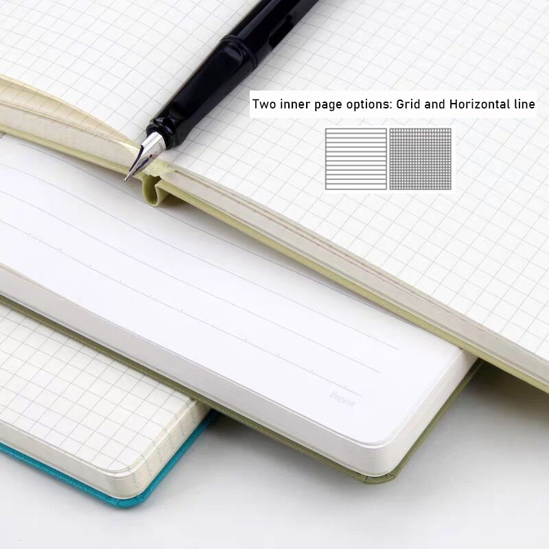 A5 Hardcover Bandage Dot Grid A5 Soft Cover Diary Bullet Notebook Dotted 228 pages Journal Bujo