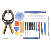 22 in 1 Mobile Phone Screwdriver Tablet LCD Screen Opening Plier Suction Cup Pry Glasses Repair Kit Set Tools For Smartphone|Hand Tool Sets| |  -
