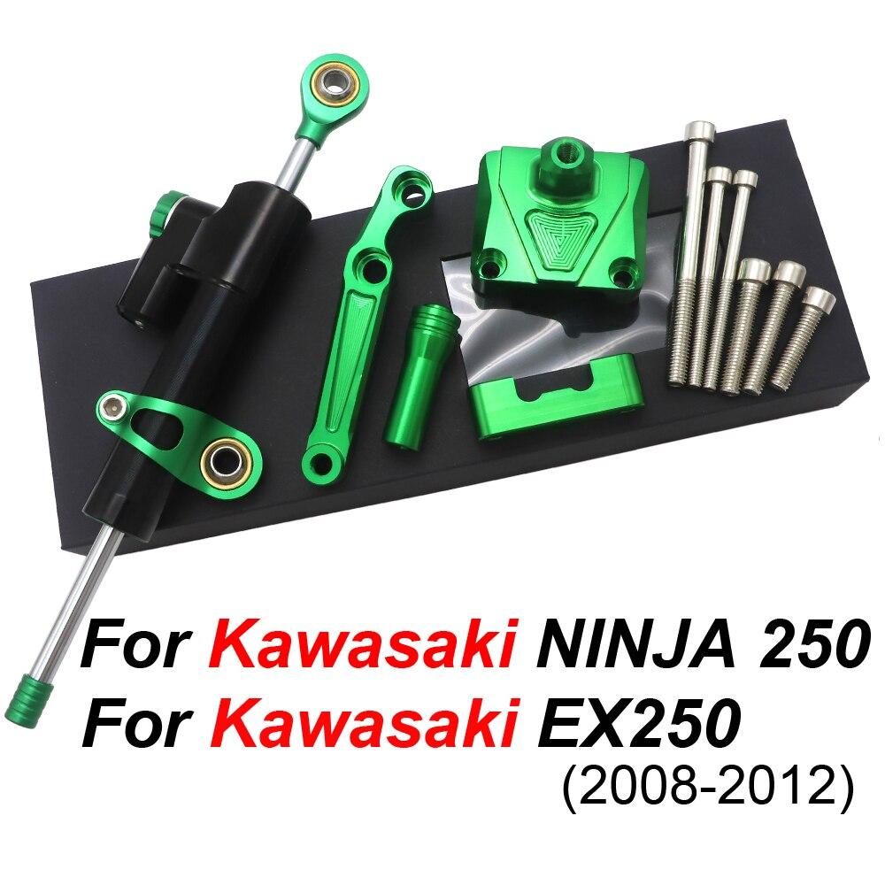 Steering Damper Stabilizer Bracket For Kawasaki NINJA EX250 08-12