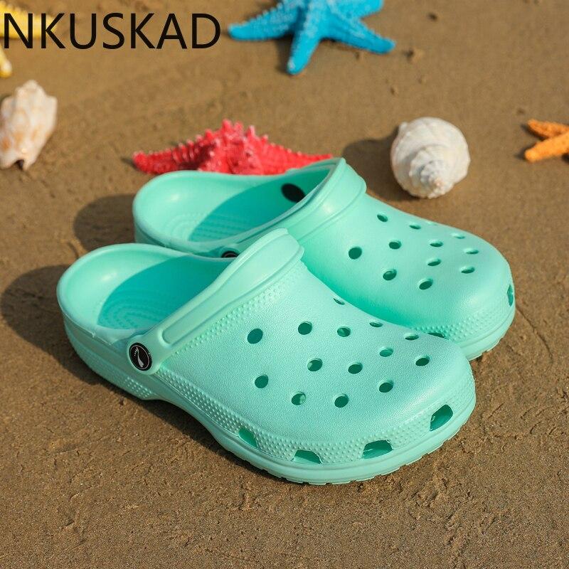 2020 Hot Sale Luxury Brand Clogs Women Sandals Crocse Shoe Croc EVA Lightweight Sandles Unisex Colorful Shoes For Summer Beach