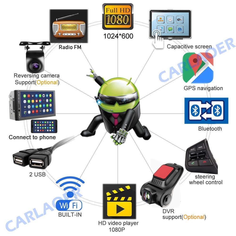 2.5D Android 8.1 2 Din samochód multimedia radiowe GPS odtwarzacz wideo 2DIN dla Volkswagen Nissan Hyundai Kia toyota LADA Ford Chevrolet