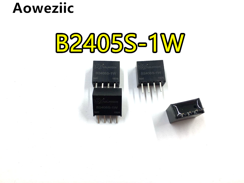2Pcs B2405S-1W B2405S B2405 DC-DC Modules SIP4 24 V To 5 V Isolated DC/DC Power Supply Module New Original
