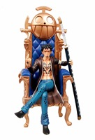 Anime Figure 29CM GK Trafalgar Law sofa Sitting position PVC Action Figure Collection Model Toys Gift