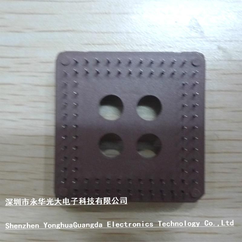 10PCS  PLCC IC Socket DIP 84 PINS PLCC-84 NEW GOOD QUALITY PS1