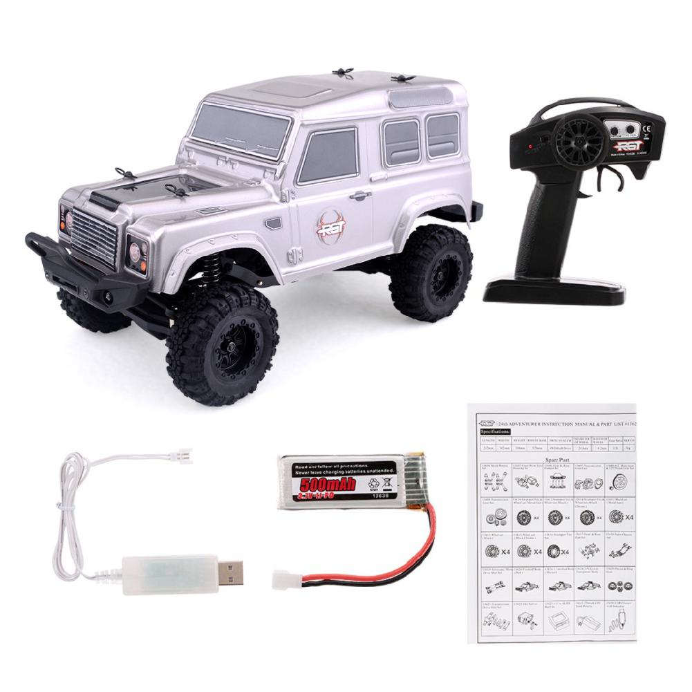 LeadingStar car toy RGT 136240 1/24 2.4G 4WD 15KM/H RC Rock Crawler Off-road Buggy Car Kids Toy RTR None LeadingStar buggy toys