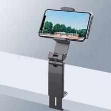 Soporte de teléfono giratorio de 360 grados, soporte plegable para coche perezoso, para teléfonos móviles iPhone/Huawei/Samsung/Xiaomi