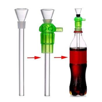 Creative Smoking Tube Plastic Bottle Pipe Shisha Hookah Pipe Portable Water Filter Pipe Sanitary Smoking Filter Hookah Accessory 1