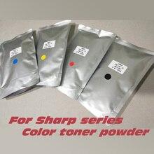 compatible color toner powder for Sharp MX2300N 2300 2700 2700N 2700NJ 3500N 3501N 4500N 4501N MX27 color toner powder