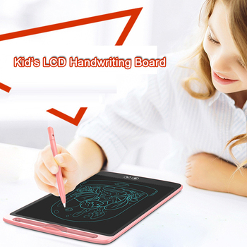 Handwriting Board Color Erasable LCD Electronic Drawing Board Graffiti Light Writing Educational Learning Toys For Children 1