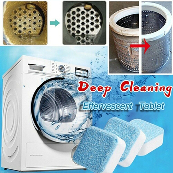 1pc Washer Tub Washing Machine Cleaner Washer Cleaning Detergent Efficent Tablet for Dropshipping Effervescent Cleansing Tablet image