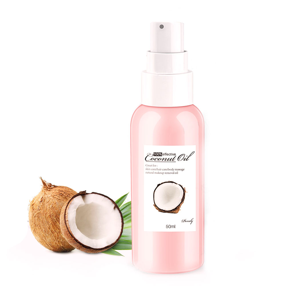 Natural Coconut Oil Lymphatic Drainage Ginger Oil Natural Anti Aging Skin Care Essential Oil Body Massage Oils image