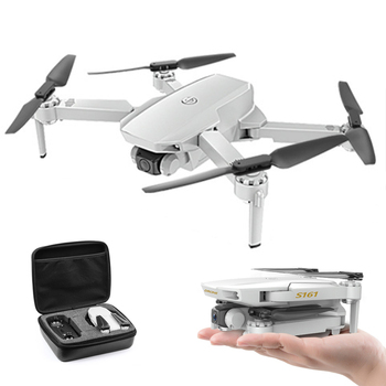 S161 Drone 4k Hd Dual Camera Wifi Fpv 2.4ghz Quadcopter Drones Gesture Control Photo Optical Flow Rc Mini Drone VS XS816 SG907