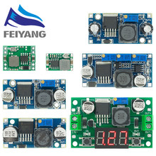 Módulo regulador de fuente de alimentación de alta calidad, DC-DC ajustable de 3A, LM2596, LM2596S, entrada de 4V-35V, salida de 1,23 V-30V, CC, reductor