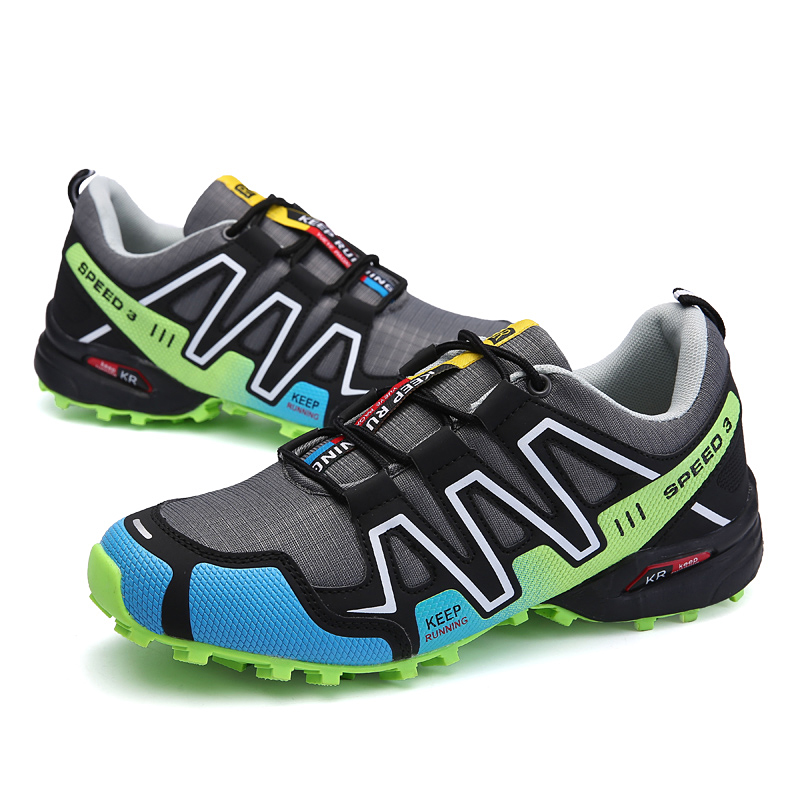 2020 Casual Shoes Men Breathable Lightweight Lace-up Mesh Sneakers Men Comfortable Mens Shoes Casual On-slip Big Size Jogging 47
